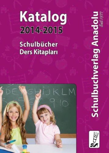 Anadolu Verlag Schulbücher / Ders Kitapları