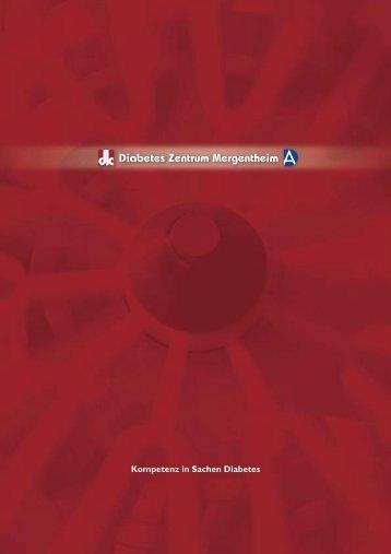 Imagebroschuere.pdf, Seiten 12-22 - Diabetes Zentrum Mergentheim
