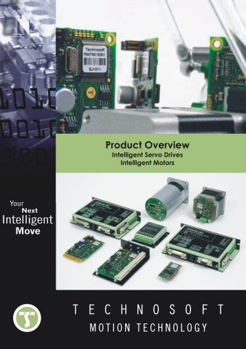 Technosoft Intelligent Servo Drives Catalog - ORLIN Technologies Ltd