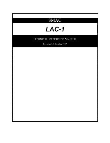 LAC-1 single axis controller manual