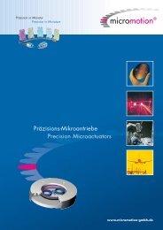 Lo-Produktbrosch re-10 - ORLIN Technologies Ltd