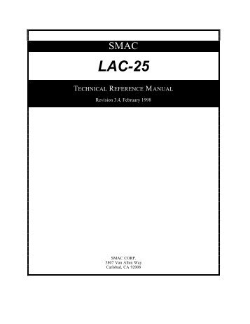LAC-25 dual axis controller manual (346kB PDF).