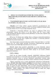 28.03.2013 • orman ve su işleri bakanı prof dr. veysel eroğlu ...