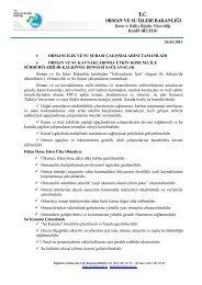 24.03.2013 • ormancılık ve su şurası çalışmalarını tamamladı ...
