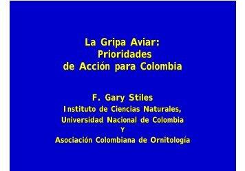 La Gripa Aviar - Asociación Colombiana de Ornitología