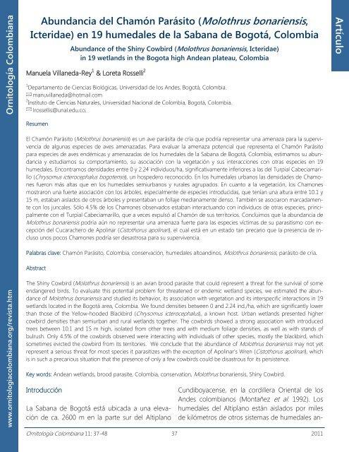 Lea todo el artÃculo en pdf - Asociación Colombiana de