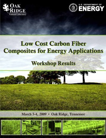 Low Cost Carbon Fiber Composites for Energy Applications ...