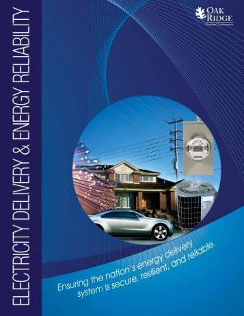 Electricity Delivery and Energy Reliability - Oak Ridge National ...