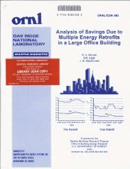 Analysis of savings due to multiple energy retrofits in a large office ...