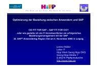 HiPP: Herr L. Müller - Wirtschaftsinformatik HTW Berlin