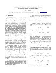 Implementation of Generalized Coarse-Mesh Rebalance in ...