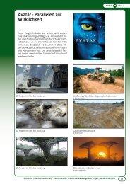 Avatar - Parallelen zur Wirklichkeit - OroVerde