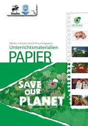 Unterrichtsmaterialien zum Thema Papier - OroVerde