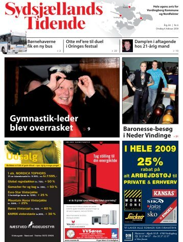 Gymnastik-leder blev overrasket :· 9 Udsalg