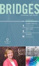 Bridges Alumni Newsletter October 2009