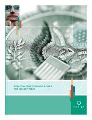 new economic stimulus bonds for indian tribes - Orrick, Herrington ...