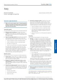 PLC Cross-border Restructuring and Insolvency Handbook - Orrick ...