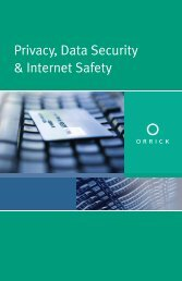 Privacy, Data Security & Internet Safety Booklet - Orrick, Herrington ...