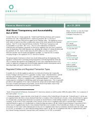 Wall Street Transparency and Accountability Act of 2010