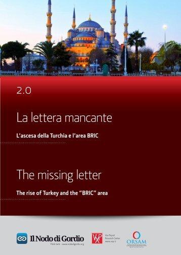 La lettera mancante 2.0 The missing letter - orsam