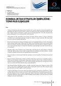 турецко-российские отношения - orsam - Page 6