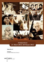 21 Mart 2012-20 Nisan 2012 - orsam