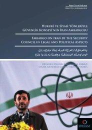Hukuk ve S yas Yönler yle Güvenl k Konsey 'n n İran ... - orsam