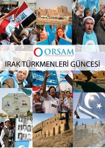 Türkmen Güncesi - 1 - 15 Mayıs 2013 - orsam