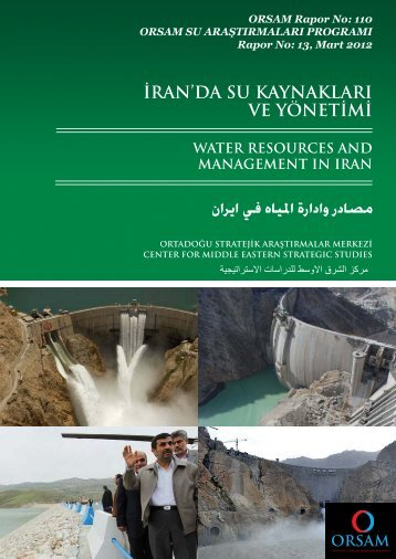 iran'da su kaynakları ve yönetimi - orsam