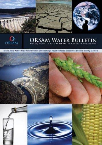 Click for the bulletin of 5-11 September 2011. - orsam