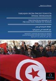 yaklaşan seçim öncesi tunus'ta siyasal denklemler the ... - orsam