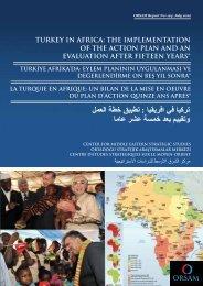 Turkey in Africa - orsam