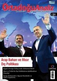 Arap Baharı ve Mısır Dış Politikası - orsam