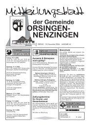 Ausweis & Reisepass noch gültig? - Orsingen - Nenzingen