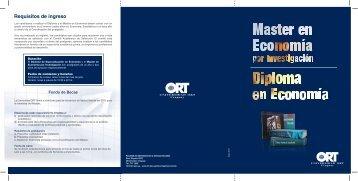 Folleto Master Economia por Inv_abr10_V2 - Universidad ORT ...