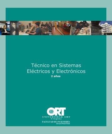 Técnico en Sistemas Eléctricos y Electrónicos - Universidad ORT ...