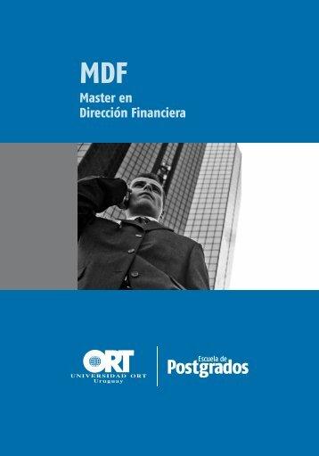 Master en Dirección Financiera - Universidad ORT Uruguay