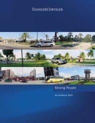 Daimlerchrysler Annual Report 2003