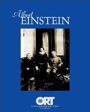 Material sobre Albert Einstein editado por la Universidad