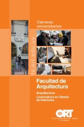 Folleto (pdf) - Universidad ORT Uruguay