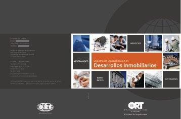 Folleto Diplomado 12-4 - Universidad ORT Uruguay