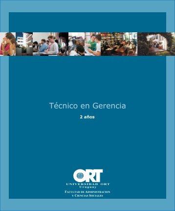 Técnico en Gerencia - Universidad ORT Uruguay