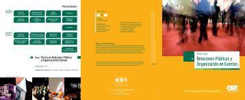 Relaciones Públicas y Organización de Eventos - Universidad ORT ...