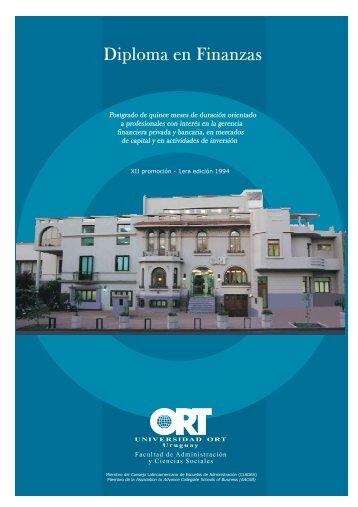 Diploma en Finanzas - Universidad ORT Uruguay