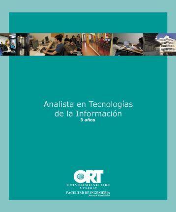 Analista en Tecnologías de la Información - Universidad ORT Uruguay