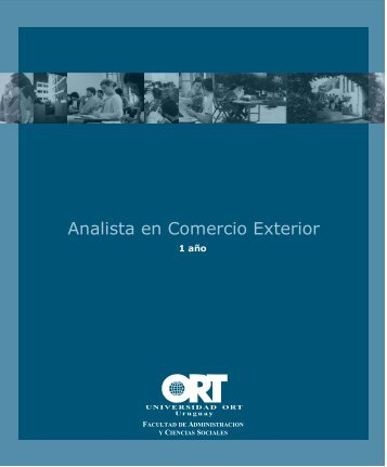 Analista en Comercio Exterior - Universidad ORT Uruguay