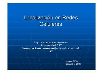 Servicios de localización en las redes celulares - Universidad ORT ...