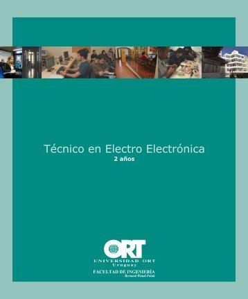 Técnico en Electro Electrónica - Universidad ORT Uruguay