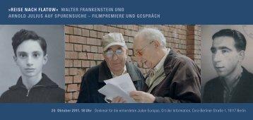Einladung als pdf-Download - Orte der Erinnerung