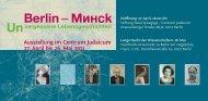Flyer als pdf-Download - Orte der Erinnerung